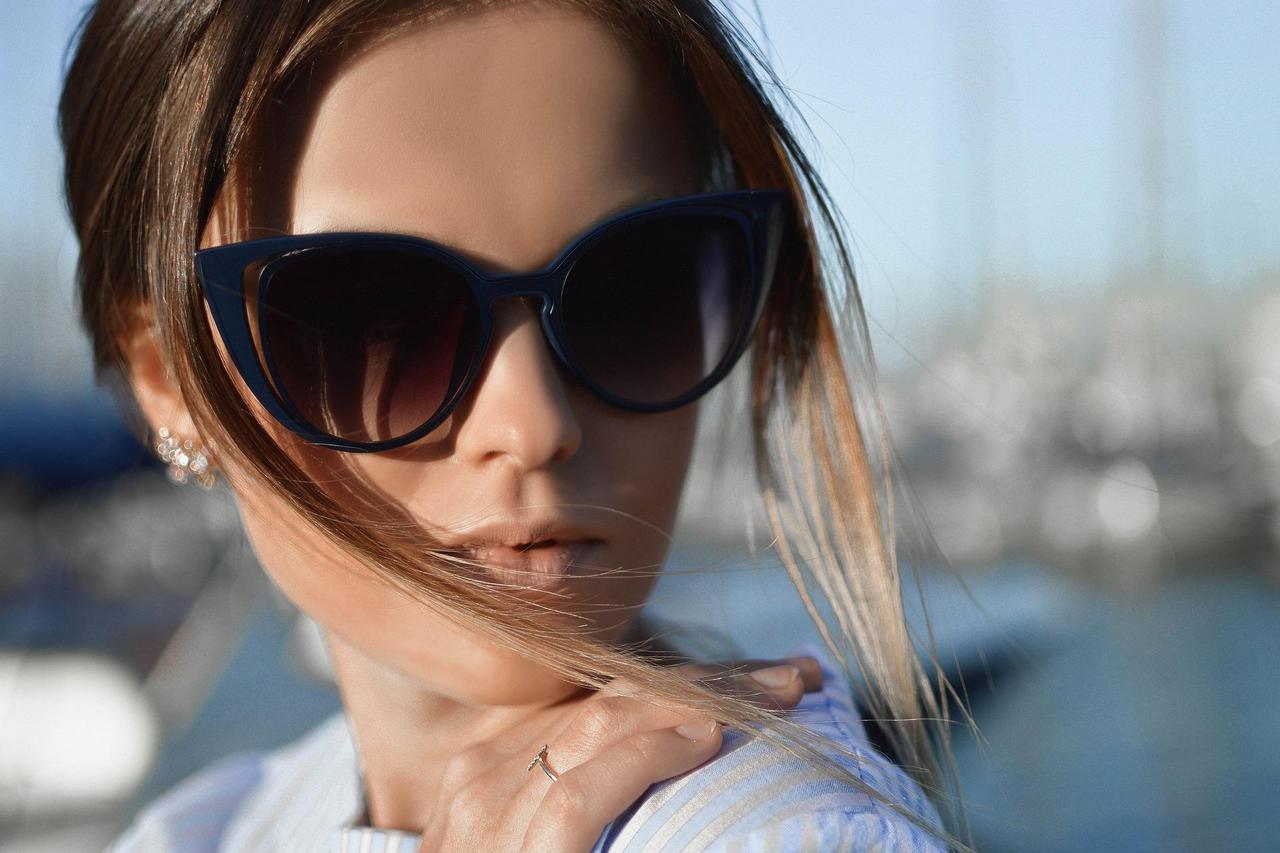 Damskie okulary słoneczne